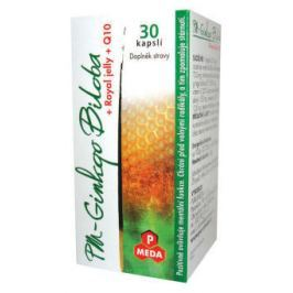 Purus Meda PM Ginkgo Biloba + royal jelly + Q10 30 kapslí