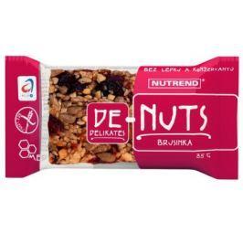 Denuts Ořechová tyčinka 35g Brusinka