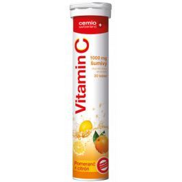 Cemio Vitamin C 1000 mg citron+pomeranč tbl.eff.20