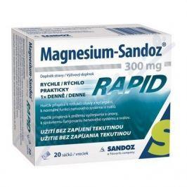 Magnesium Sandoz 300mg RAPID por.gra.sus.20x300mg