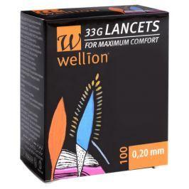 Lancety Wellion 100 ks - 33G