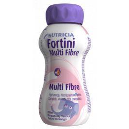 Fortini pro děti S vlákninou - Jahoda 200ml