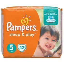 PAMPERS Sleep&Play Junior 11-16kg dětské pleny 42ks