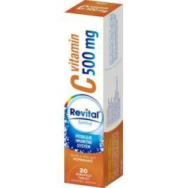 Revital C vitamin 500mg Pomeranč eff.tbl.20