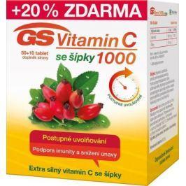 GS Vitamin C1000 + šípky tbl.50+10 2016