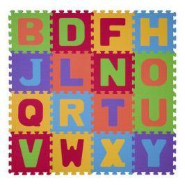 Puzzle pěnové písmena 16 ks, 6m+