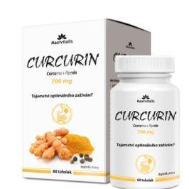 Maxivitalis CURCURIN (curcuma+piperin) 700mg 60tob