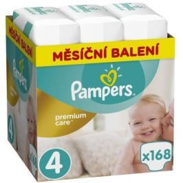 Pampers Premium Monthly Box S4 168ks