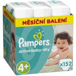 Pampers Active Baby Monthy Box S4+ 152ks