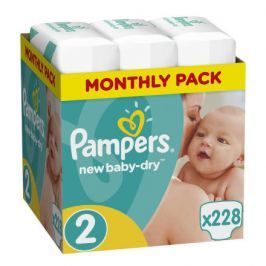 Pampers New Baby Monthy Box S2 (3x 76ks)