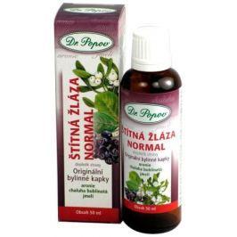 Dr.Popov Kapky bylinné Štítná žláza normal 50ml