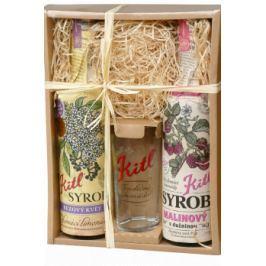 Kitl Syrob Bez+Malina 2x 500ml dárkové balení