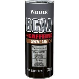 Weider BCAA + Caffeine drink, Crystal Cola, 250 ml