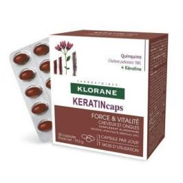 KLORANE Keratincaps Síla a vitalita cps.30