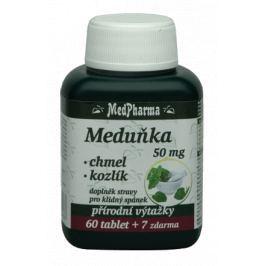 MedPharma Meduňka+chmel+kozlík cps.67