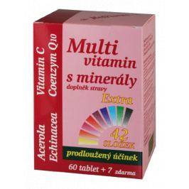 MedPharma Multivitamín s minerály+extra C tbl.67