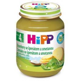HIPP ZELENINA BIO Brambory se špenátem a se smetanou 125g