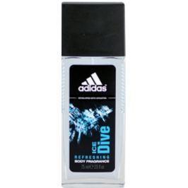 Adidas Ice Dive parfémovaný deodorant sklo pro muže 75 ml