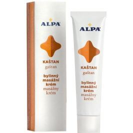 Alpa Kaštan bylinný masážní krém 40 g