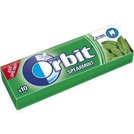 Wrigleys Orbit Spearmint žvýkačky bez cukru dražé 10 kusů 14 g
