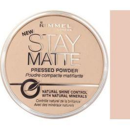 Rimmel London Stay Matte Powder pudr 005 Silky Beige 14 g