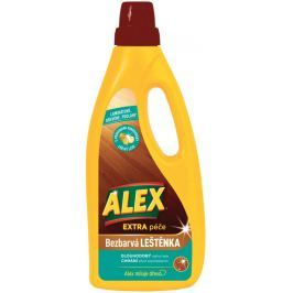 Alex Extra péče Bezbarvá leštěnka na dřevo a laminát 750 ml