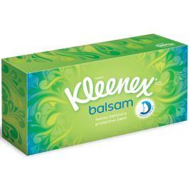 Kleenex Balsam hygienické kapesníky box 3 vrstvé 80 kusů