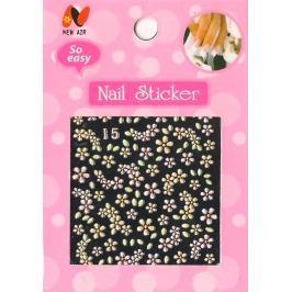 Nail Stickers 3D nálepky na nehty 1 aršík 10100 15