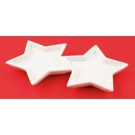 Hvězdy keramiské k dekoraci 17 cm