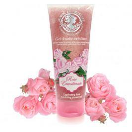 Jeanne en Provence Rose Envoutante - Podmanivá růže sprchový peelingový gel 200 ml