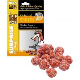 Huhubamboo Kuřecí kuličky přírodní masová pochoutka pro psy 75 g