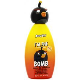Angry Birds I m The Bomb 2 in1 šampon a sprchový gel pro děti 300 ml