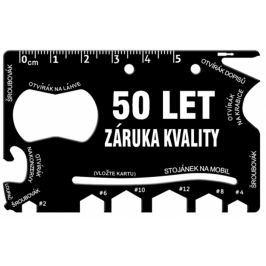 Albi Multinářadí do peněženky 50 Let záruka kvality 8,5 cm x 5,3 cm x 0,2 cm
