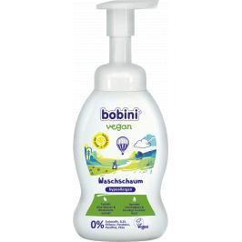 Bobini Vegan hypoalergenní mycí pěna na olbičej, tělo i ruce pro děti od 1. dne narození dávkovač 300 ml