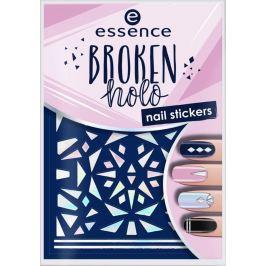 Essence Stand Out! 3D Touch nálepky na nehty 12 Broken Holo 1 aršík