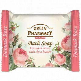 Green Pharmacy Damašská růže a Bambucké máslo toaletní mýdlo 100 g