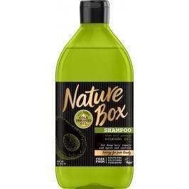 Nature Box Avokádo Regenerační šampon na vlasy se 100% za studena lisovaným olejem, vhodné pro vegany 385 ml