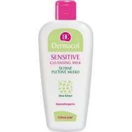 Dermacol Sensitive Cleansing Milk šetrné pleťové mléko pro citlivou pleť 200 ml