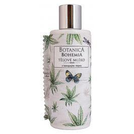 Bohemia Gifts & Cosmetics Botanica Konopný olej tělové mléko pro všechny typy pokožky 200 ml
