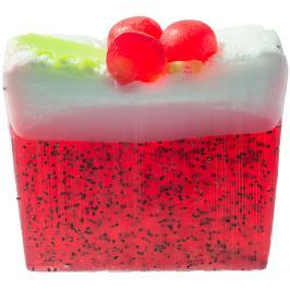 Bomb Cosmetics Vánoční puding - Xmas Pud Přírodní glycerínové mýdlo 100 g