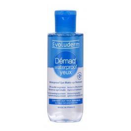 Evoluderm Waterproof Eye Make-up Remover dvoufázový odličovač očního make-upu 150 ml