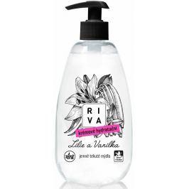 Riva Lilie a Vanilka krémové hydratační jemné tekuté mýdlo dávkovač 500 ml