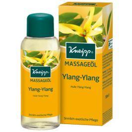 Kneipp Ylang-Ylang masážní olej, sametově hebká pokožka se smyslnou exotickou vůní 100 ml