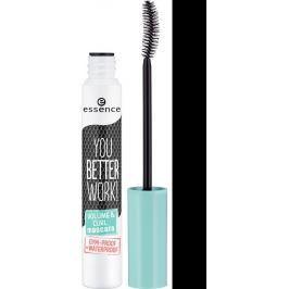 Essence You Better Work Volume & Curl Mascara řasenka černá 10 ml