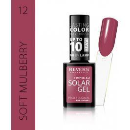 Revers Solar Gel gelový lak na nehty 12 Soft Mulberry 12 ml