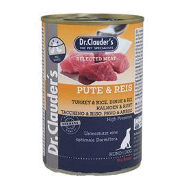 Dr. Clauders Krocan s rýží, obsahuje probiotika kompletní superprémiové krmivo pro dospělé psy 400 g