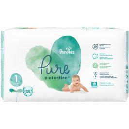 Pampers Pure Protection velikost 1, od 2-5 kg plenkové kalhotky 35 kusů