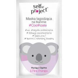 Selfie Project CoolKoala zklidňující textilní pleťová maska 15 ml