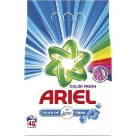 Ariel Color Fresh Touch of Lenor prací prášek na barevné i bílé prádlo 48 dávek 3,6 kg