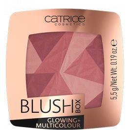 Catrice Blush Box Glowing + Multicolour tvářenka 020 Its Wine Oclock 5,5 g